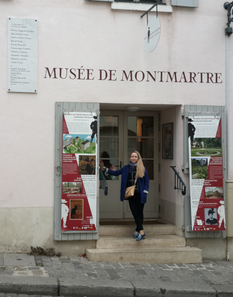 Музей на монмартре французский